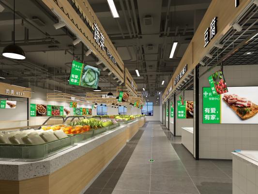 现代菜市场