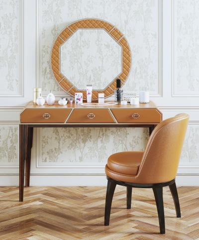现代梳妆台 梳妆椅