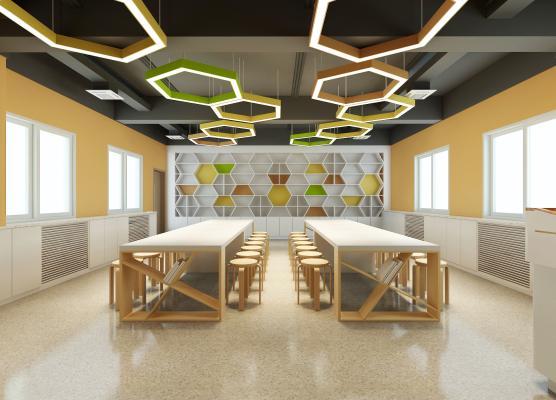 现代美术教室
