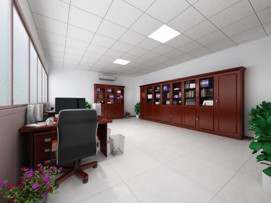 中式办公室