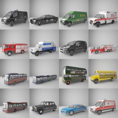 现代交通工具 机动车