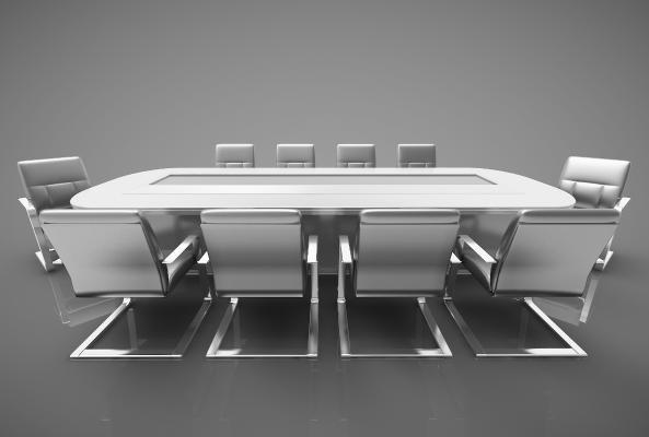 现代风格会议桌