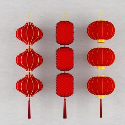 中式红灯笼纸灯笼