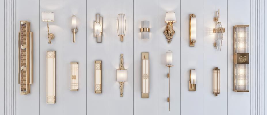 新中式壁灯