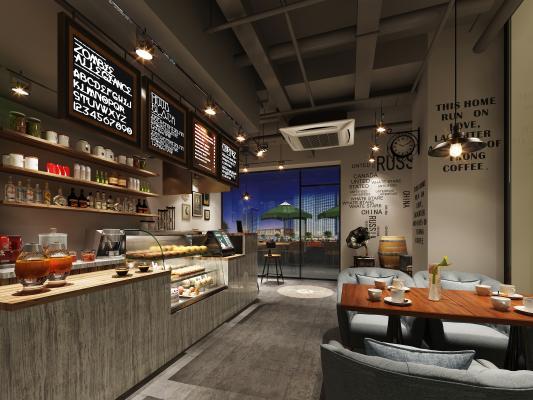 工业咖啡厅