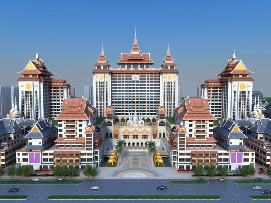東南亞商業建筑外觀
