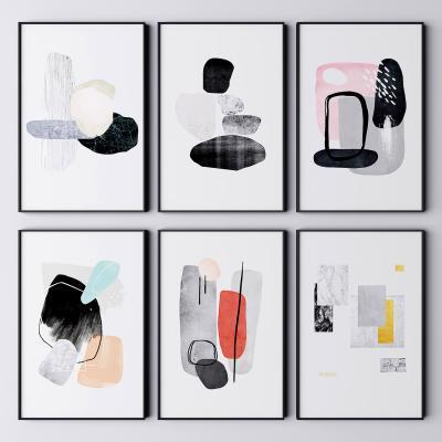 现代挂画 抽象画 艺术画