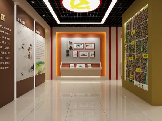 现代风格村使馆展厅