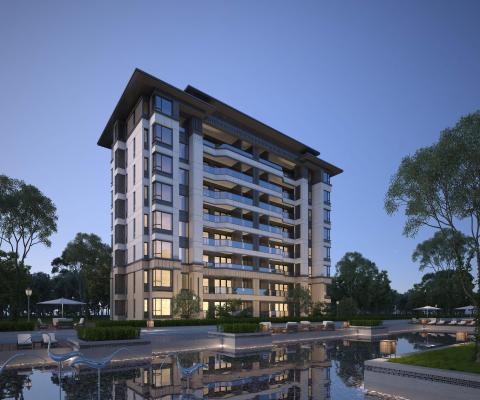 新古典古典多层住宅
