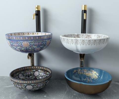 中式台盆 洗手盆