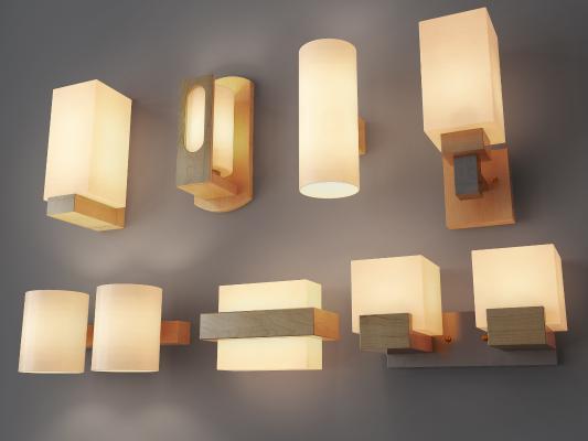 新中式壁燈 臺燈 吊燈