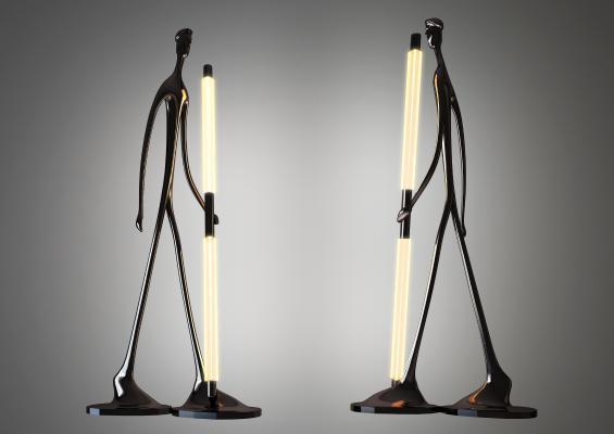 现代创意落地灯