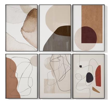 现代挂画 抽象画