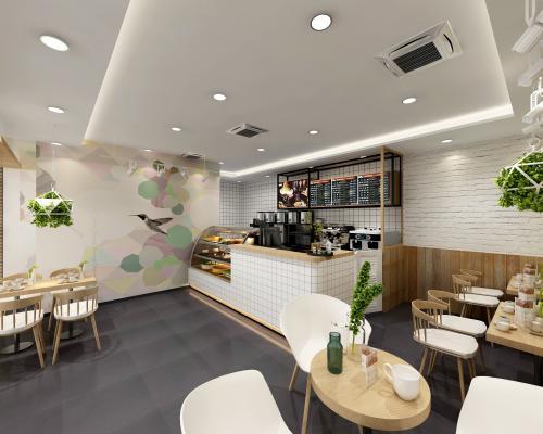 現代甜品奶茶店