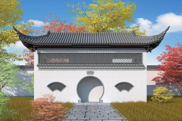 中式风格公厕