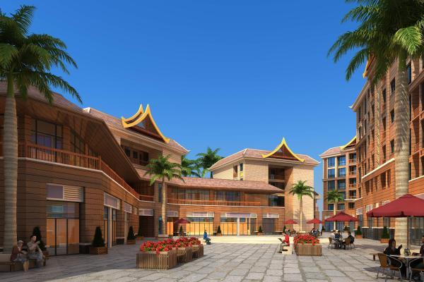 东南亚商业区