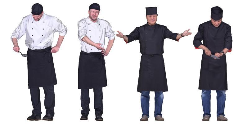现代厨师师傅