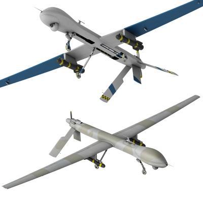 现代无人侦察机 无人机