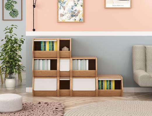 北欧风格书柜