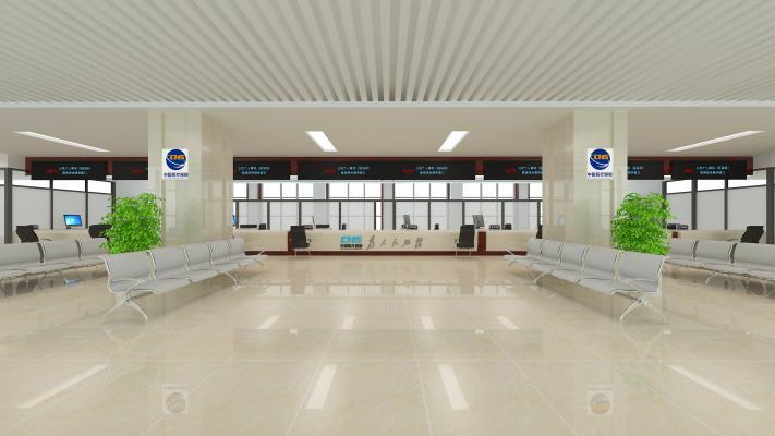 现代医保政务大厅
