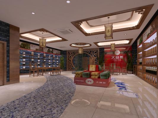 新中式茶叶专卖店