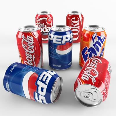 现代饮料 易拉罐 可乐