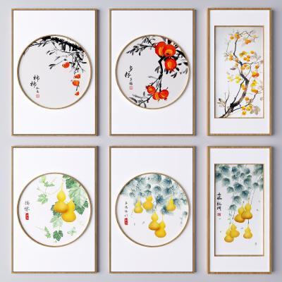 新中式挂画 植物画 葫芦画