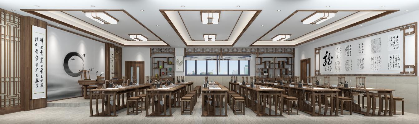 新中式书法教室