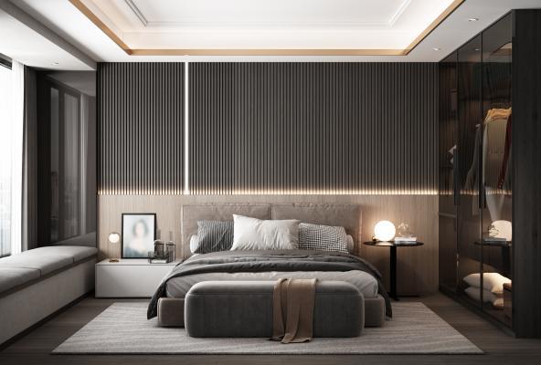 后现代卧室 主卧