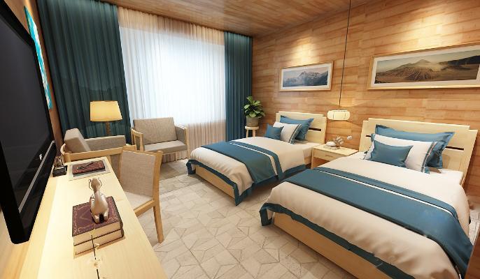 北欧风格民宿客房