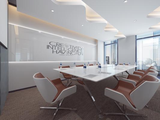 現代會議室 接待臺