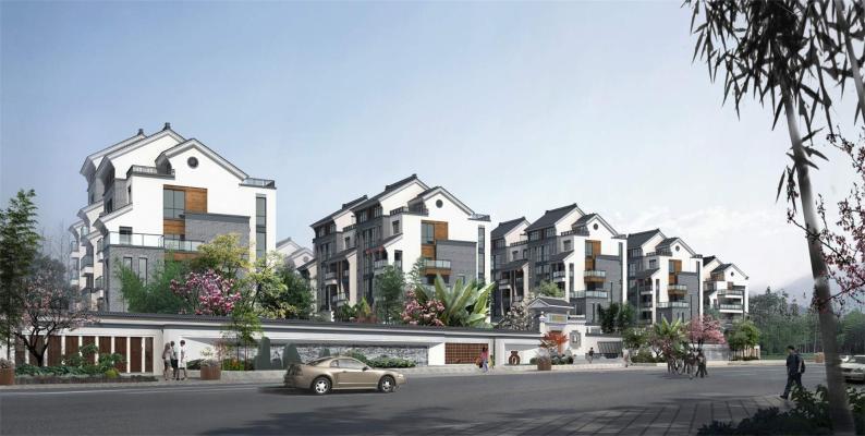 中式风格住宅区