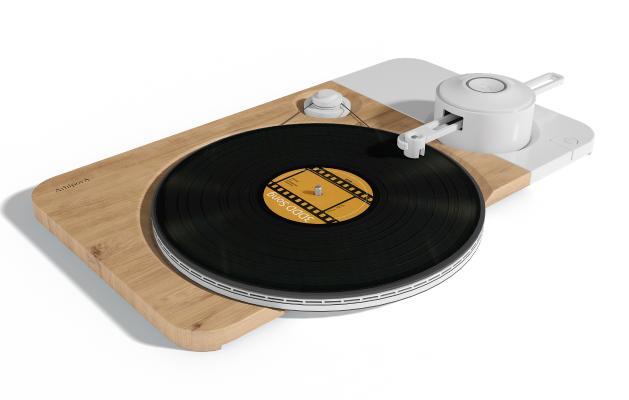现代留声机 唱片机