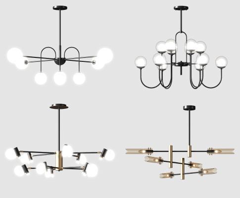 現代吊燈組合