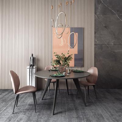 现代餐桌 圆桌