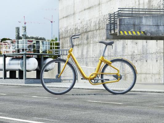现代ofo单车
