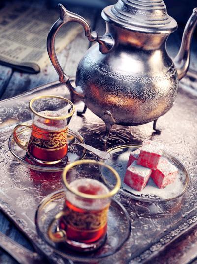 新古典装饰品 壶红茶托盘