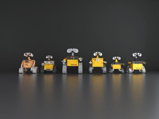 现代瓦力机器人