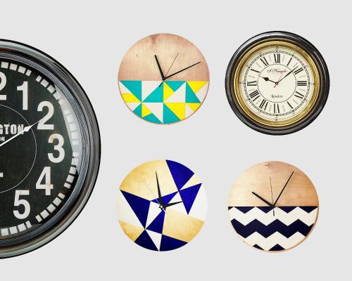 现代时钟组合