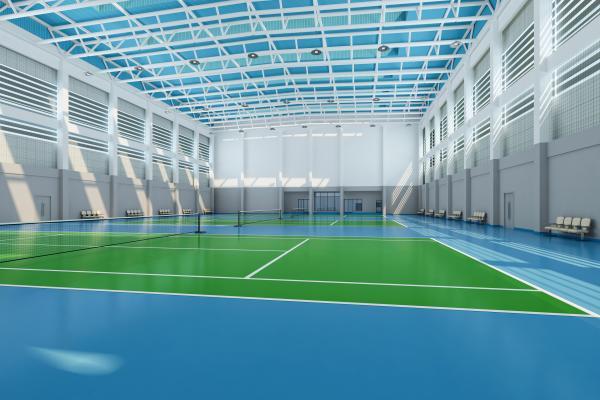 现代体育馆网球馆
