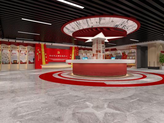 工业风文化馆 服务站 展厅