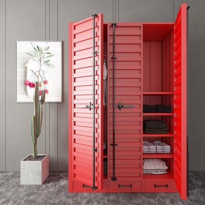 工业风衣柜 储物柜 装饰柜