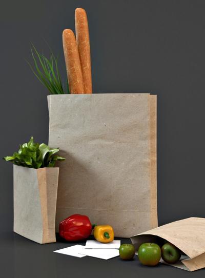 现代蔬菜购物袋