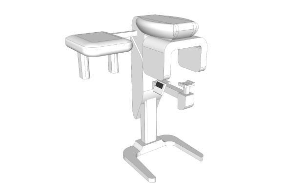 现代牙科CT机器