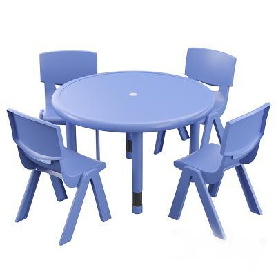 现代幼儿园桌椅