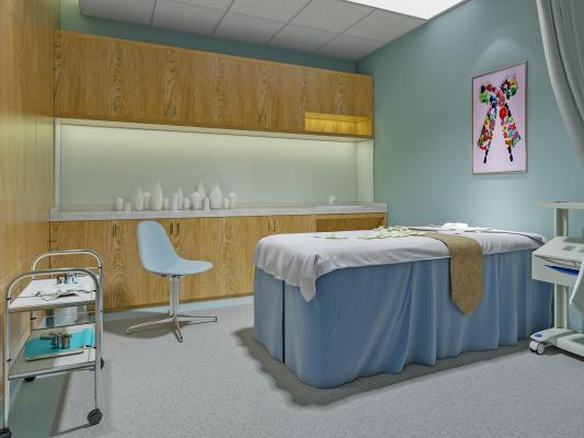 现代医院 治疗室