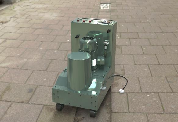 现代油泵机器