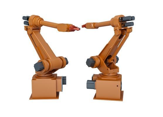 现代智能工业机器人 工业机器人 机械臂