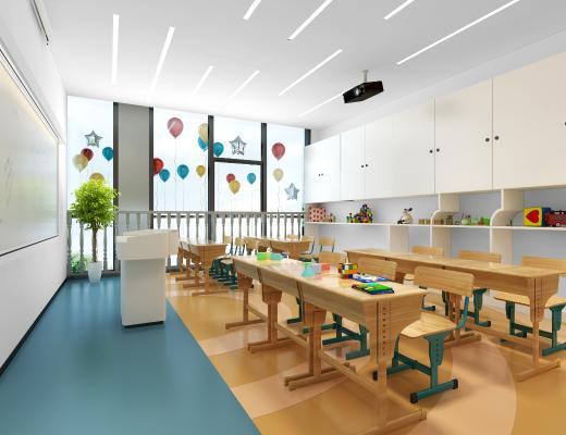 北欧儿童教室