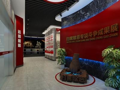 现代文化展厅 展馆